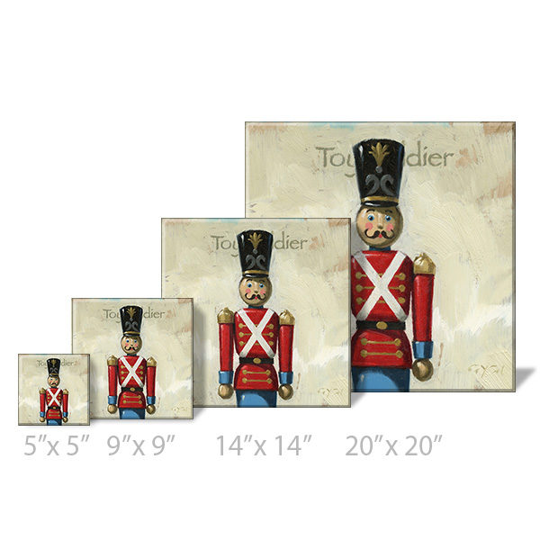 toy soldier print sizes