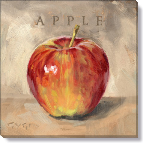 apple gallery wrapped giclee print