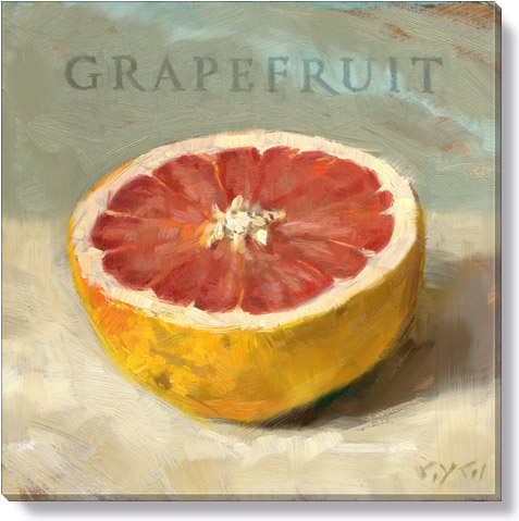 grapefruit giclee art print