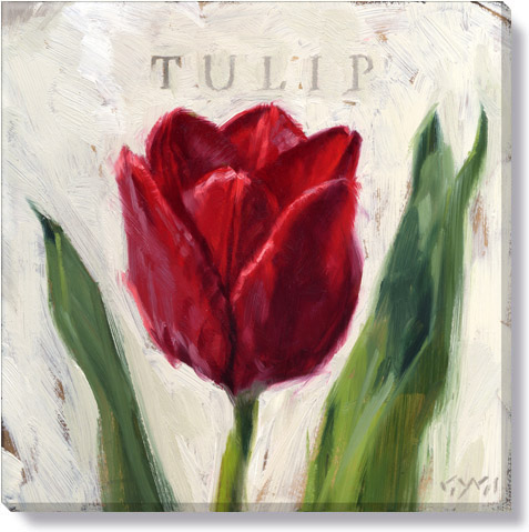 red tulip home decor