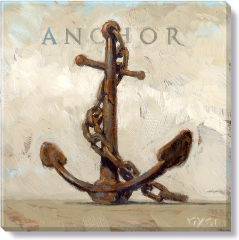 anchor gallery wrapped giclee print