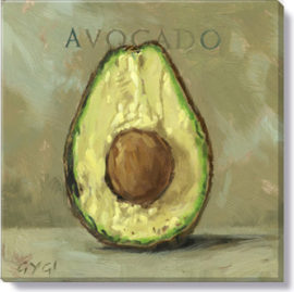 avocado giclee art print