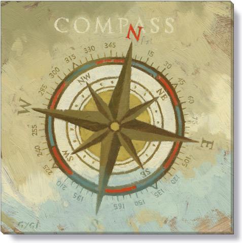compass gallery wrapped giclee