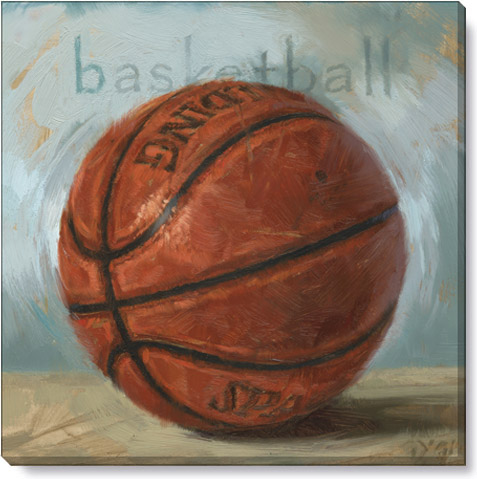 basketball giclee art print