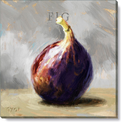fig canvas art print