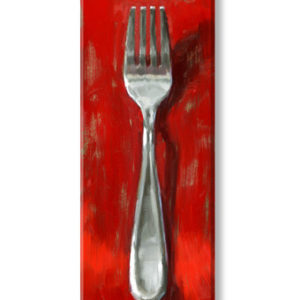fork canvas art print