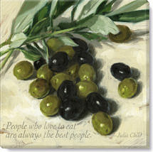 inspirational olives quote print