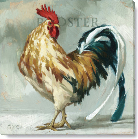 rooster gregory peck print