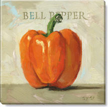 bell pepper giclee art print