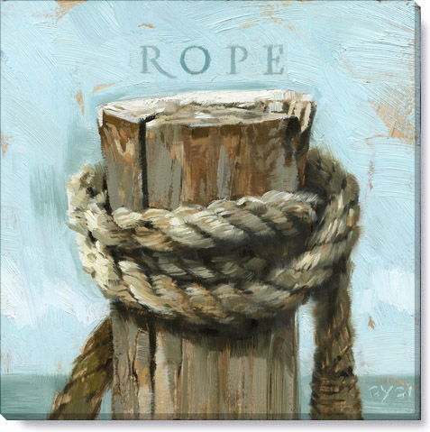 rope canvas art print