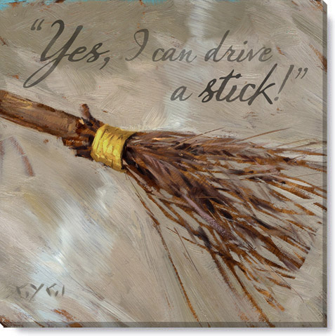 witch's broom canvas print