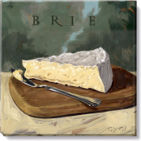 brie canvas art print