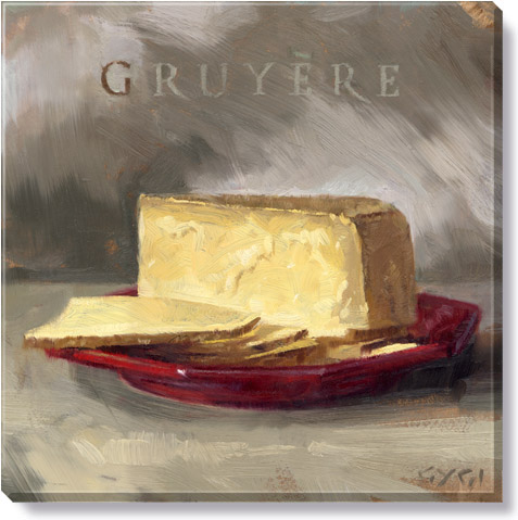 gruyere cheese art print