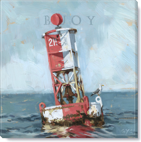buoy canvas art print
