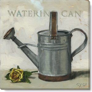watering can giclee art print