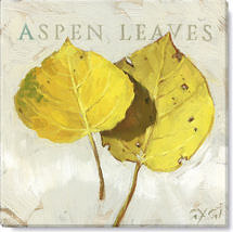 aspen leaves giclee art print