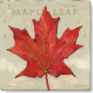 maple leaf giclee art print