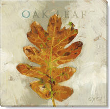 oak leaf giclee art print