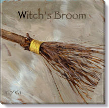 witch's broom art print