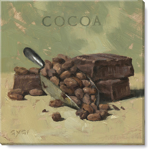 cocoa canvas art print
