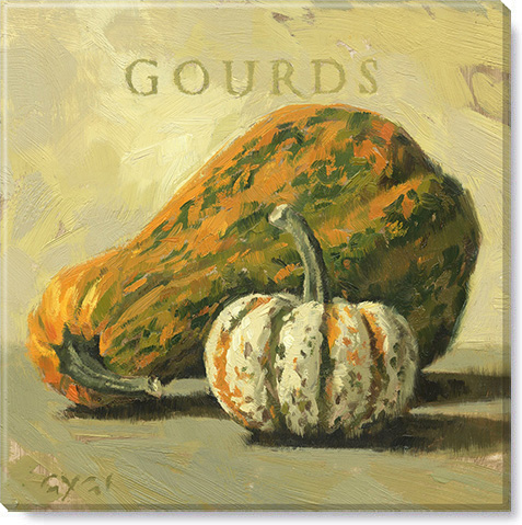 gourds canvas art print