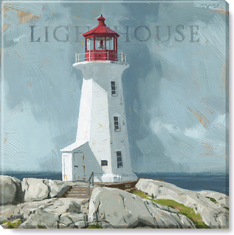 lighthouse giclee art print