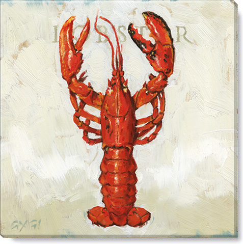 lobster giclee art print