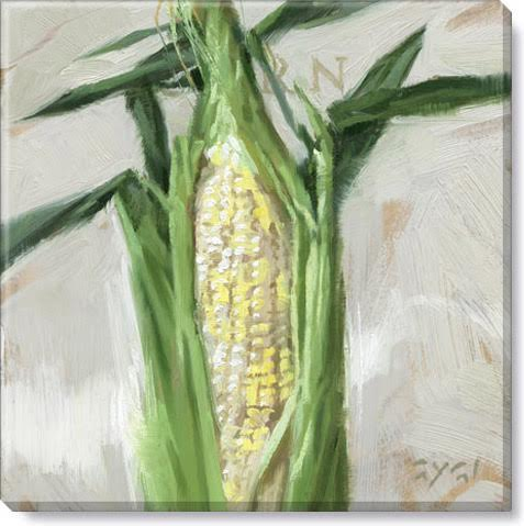 corn gallery wrapped giclee print