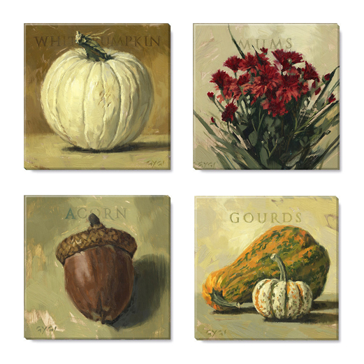 autumn harvest print set