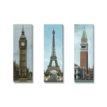 European towers print set