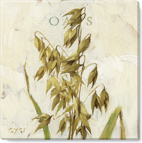 oats canvas art print