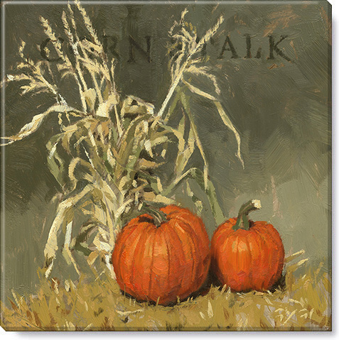 corn stalk canvas art print