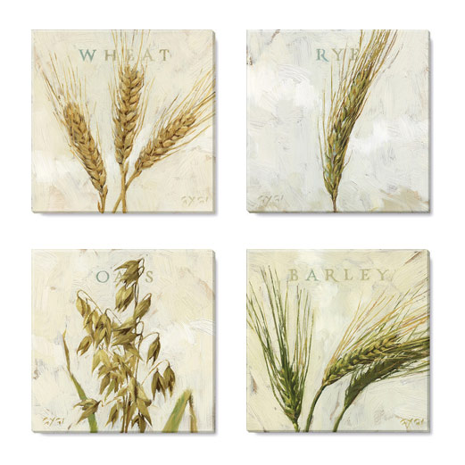 amber waves of grain print set