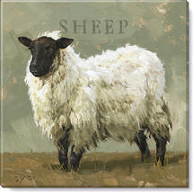 sheep giclee art print