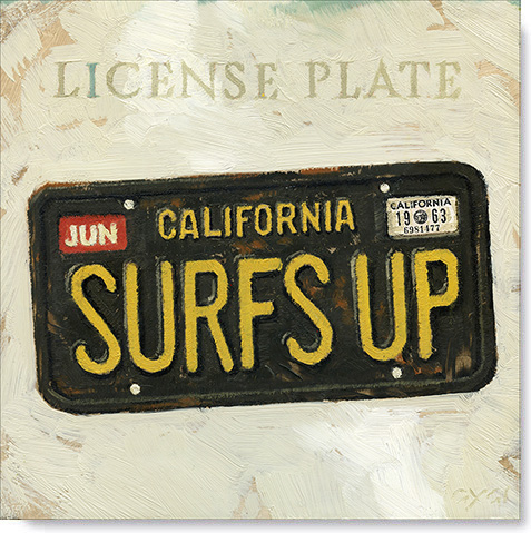 license-plate-canvas-art-print