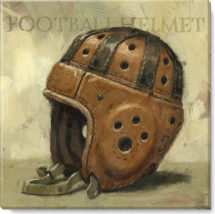 football-helmet-giclee-art-print