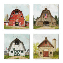 barn canvas art prints