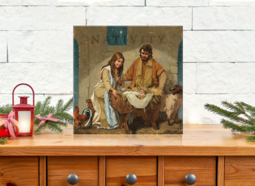 nativity painting blog
