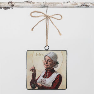 mrs claus ornament