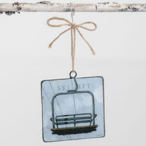 ski lift ornament