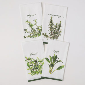 herb tea towel set