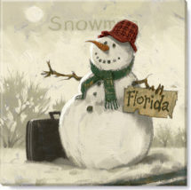 132-SnowmanWithSuitcase